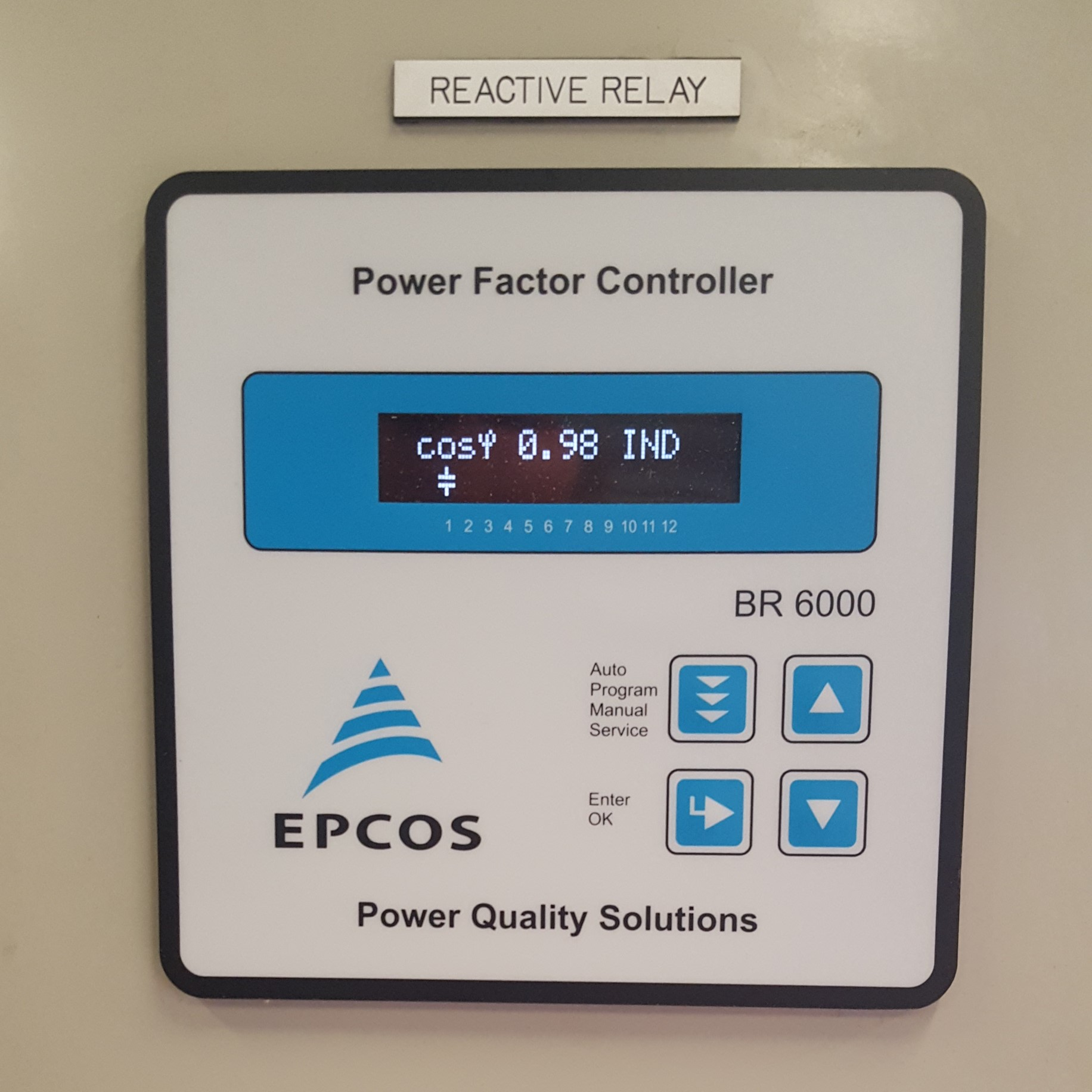 Power Factor Correction, Energy Management